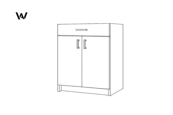 Wood & Anvil Cabinet